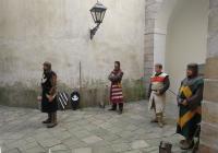 Šermíři na zámku Náchod