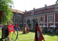 Rytířské odpolední slavnosti na zámku Stekník