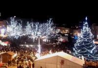 Rozsvícení vánočního stromu v Jihlavě