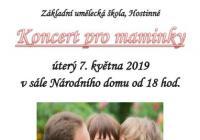 Koncert pro maminky ZUŠ Hostinné