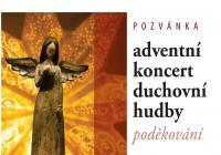 Adventní koncert duchovní hudby