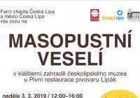 Masopustní veselí v České Lípě