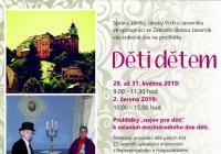 Děti dětem na zámku Jánský Vrch v Javorníku