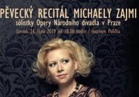 Pěvecký recitál Michaely Zajmi sólistky opery národního divadla v Praze