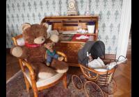 Medvědi na lysickém zámku