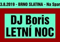 Letní noc - Brno Slatina