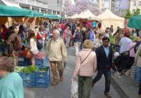 Farmářské trhy na pěší zóně Anděl - Praha