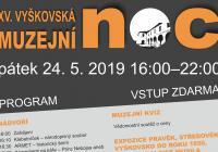 Muzejní noc - Muzeum Vyškovska
