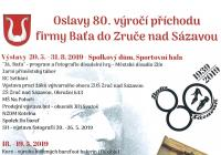 Oslavy 80. výročí příchodu firmy Baťa do Zruče nad Sázavou