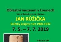 Jan Růžička / Snímky krajiny z let 1900 – 1937