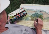 Malování v Krkonoších