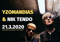 Yzomandias & Nik Tendo Live Show - Svitavy