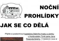 Jak se co dělá - noční prohlídky - Zámek Horšovský...