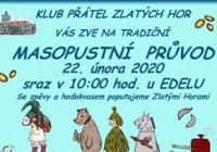 Masopust 2020 - Zlaté Hory