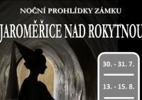 Noční prohlídky zámku Jaroměřice nad Rokytnou