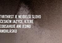 Čtvrthrst je nejdelší slovo v českém jazyce, které neobsahuje ani jednu samohlásku