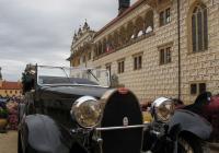 Sjezd automobilových veteránů na zámku v Litomyšli