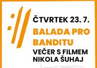 Mezinárodní hudební festival Český Krumlov 2020 - Balada pro banditu Přeloženo