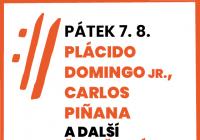 Mezinárodní hudební festival Český Krumlov 2020 - Španělský večer: Plácido Domingo jr., Carlos Piňana a další - nově Český večer