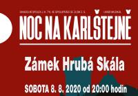 Noc na Karlštejně – Hrubá Skála