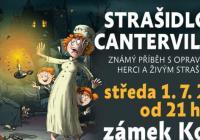 Strašidlo cantervillské 2020 na zámku Kozel
