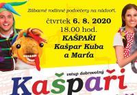 Kašpaři na hradě v Polné