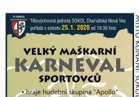 Karneval pro děti - Charvátská Nová Ves Břeclav