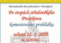 Mezinárodní den průvodců 2020 v Prostějově