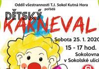 Karneval pro děti 2020 - Kutná Hora
