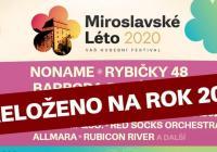 Miroslavské Léto 2020 - přeloženo na 2021
