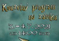 Kouzelný program ve stylu Harryho Pottera na zámku...