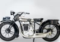 Výstava historických motocyklů