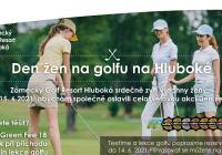 Den žen na golfu na Hluboké