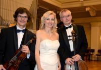 Moravské klavírní trio a Valérie Zawadská