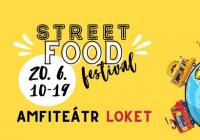 Dobré jídlo světa street food festival Amfiteátr Loket