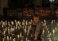 Noční varhanní koncert při svíčkách