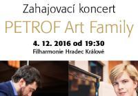 Koncert Petrof Art Family / Filharmonie Hradec Králové