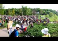 Crtitical mass BIKE for BABY JESUS ride with bike party i