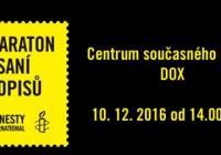 Maraton psaní dopisů v DOXu