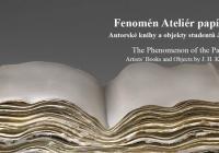 Komentovaná prohlídka: Fenomén Ateliér papír a kniha