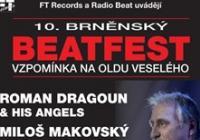 10. brněnský Beatfest - vzpomínka na Oldu Veselého