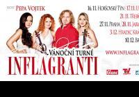 Smyčcové trio Inflagranti vyjíždí na vánoční turné