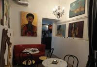 Galerie Glance 4ART a kavárna ART café, Praha 5