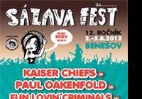 Na Sázavafestu nevystoupí Kaiser Chiefs ani Skindred