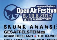 Open Air Festival v Panenském Týnci představil další umělce