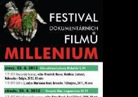 Už za týden se můžeme těšit na festival dokumentárních filmů MILLENIUM