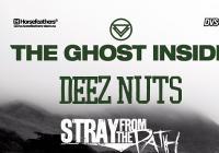 The Ghost Inside, Deez Nutz, Stray from the Path a Devil in me navštíví Prahu