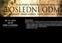 Poslední odměna, nejočekávanější studentský film letošního roku, už zítra v Lucerně