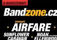 Bandzone oslaví narozeniny s Airfare nebo Sunflower Caravan