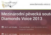 Mezinárodní pěvecká soutěž Diamonds Voice v Praze